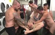 Laundromat Gangfuck