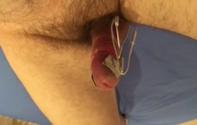 Electric impulses make my cock hard