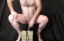 Cock Stretched by 20lbs