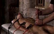 Bondage domination and handjob