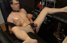 Horny gay kinky webcam session