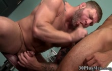 Hot buff ebony dude fucked